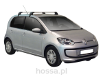 Bagażnik WhispBar Flush S5/K720: SEAT Mii / SKODA Citigo / VW Up 5d hatchback 2012-